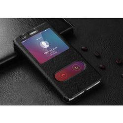 View Flip Czarny   Etui z klapką dla Huawei Honor 5X - Czarny