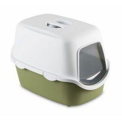 Stefanplast Toaleta Cathy z filtrem Biało-Oliwkowa [97586]