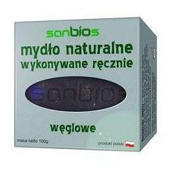 Mydło naturalne węglowe 100g - Sanbios
