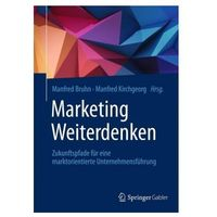 Marketing Weiterdenken Bruhn, Manfred