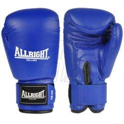 Rękawice bokserskie Allright PVC niebieskie