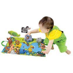 K's Kids, Dżungla, przenośna mata z figurkami zwierząt Darmowa dostawa do sklepów SMYK