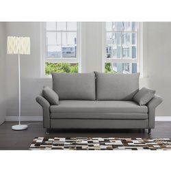 Sofa do spania szara - kanapa - rozkladana - wypoczynek - EXETER