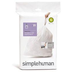 Simplehuman - Worki na śmieci 30L rozm. G - 20 szt.