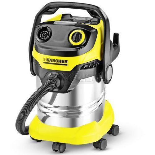 Odkurzacz Karcher WD 5 Premium (1.348-231.0) (z workiem lub bez 1100W czarno-żółto-srebrny)
