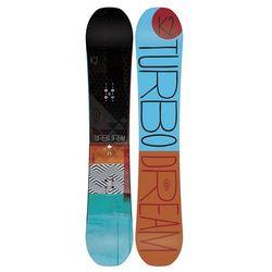 Snowboardy Turbo Dream + Formula Blue L (TEST SNB) Czarny/Wielobarwny 159