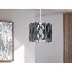 Lampa szara - sufitowa - zyrandol - lampa wiszaca - MOZA