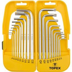 Zestaw kluczy 18 szt. Topex