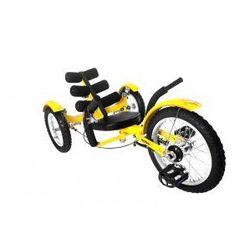 Rower Trójkołowy Mobo Cruiser Model Mobito Żółty