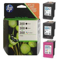 Zestaw tuszy HP 300 / SD518AE do drukarek (Oryginalny)