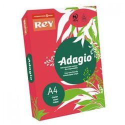 Papier ksero czerwony A4 80g Rey 22