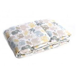 Ochraniacz na szczebelki do łóżeczka - Słoniki