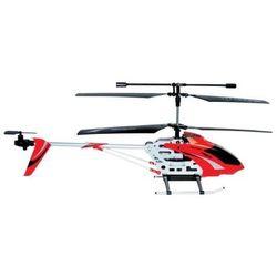 Helikopter na pilota 3 kanałowy z żyroskopem 57 cm czerwony