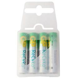 4 x akumulatorki GP ReCyko+ R03 AAA 800mAh