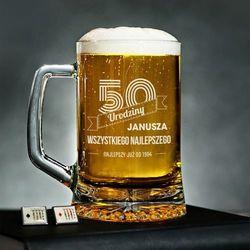 Wszystkiego Najlepszego - Personalizowany Kufel - Kufel do piwa