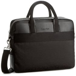 Torba na laptopa CALVIN KLEIN BLACK LABEL - Power Logo Laptop Bag K50K502134 001