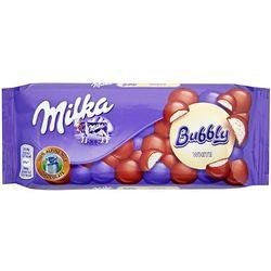 Czekolada Milka Bubbly White z napowietrzoną białą czekoladą 95 g