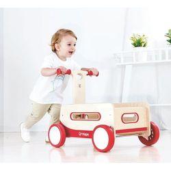Chodzik Drewniany wagonik do zabawy dla dzieci