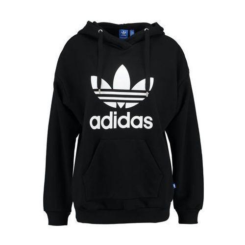 adidas Originals TREFOIL Bluza z kapturem black