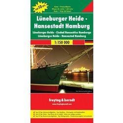 Niemcy Luneburger Heide- Hamburg. Mapa T10T 1:150 000 (opr. twarda)