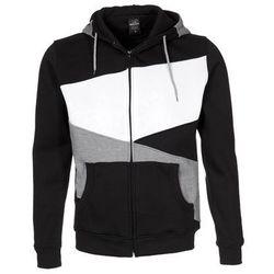 Urban Classics ZIG ZAG Bluza rozpinana black/grey/white