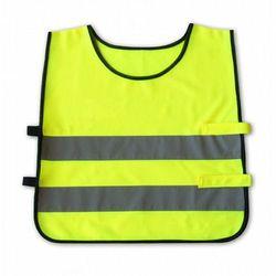 Kamizelka odblaskowa dla dzieci 3 - 6 lat, 42x45cm - żółta