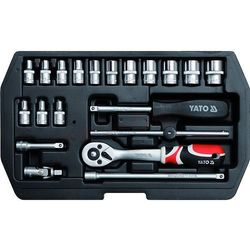 Zestaw narzędziowy YATO YT-1449 XS (20 elementów)