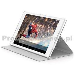 Sony Style skrzynki pokrywa dla Sony Xperia SCR28 Z3 Tablet, Biały Compact