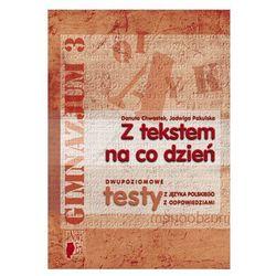 Język polski, klasa 3, Dwupoziomowe testy, Nowa Era