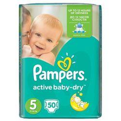 PAMPERS Active Baby-Dry Pieluchy 5 Junior 50szt pieluszki