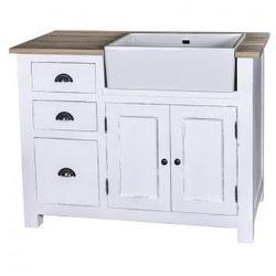 Prowansalska szafka kuchenna pod zlew PS248