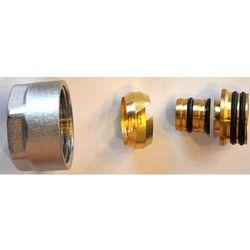Złączka zaciskowa do rury z tworzywa sztucznego PEX GW M22x1,5 - 16x2 Schlosser 6026 00003 Niklowana
