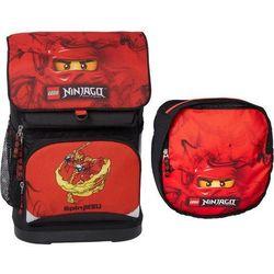 LEGO Ninjago, Kai, plecak mały + worek, czarny Darmowa dostawa do sklepów SMYK