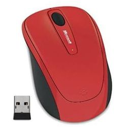 Microsoft Wireless Mobile Mouse 3500 Flame Red Gloss; GMF-00293