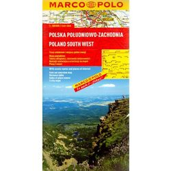 Polska Południowo-Zachodnia. Mapa Marco Polo 1:300 000 (opr. broszurowa)