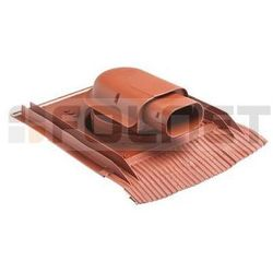 Przejście dachowe dla kolektorów słonecznych VILPE - uniwersalne do dachówek