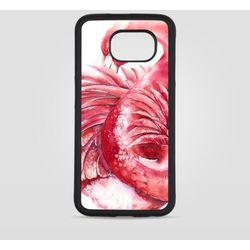 Etui na Samsung Galaxy S6: Flaming różowy