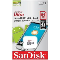 SanDisk microSDXC 64GB - produkt w magazynie - szybka wysyłka!