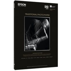 "Epson C13S045056 Traditional Photo Paper, 44"" x 15"", 330 g/m2, 25 arkuszy"