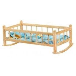Kołyska drewniana dla lalek