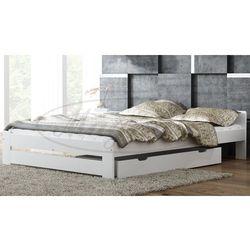 Łóżko drewniane Niwa 120x200 białe
