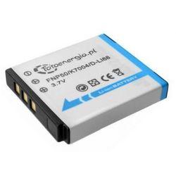 Whitenergy bateria foto Fuij NP-50 950mAh Li-ion 3.6V