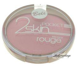 Bell - 2 Skin Pocket - Prasowany róż do policzków-052