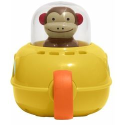 Skip Hop, Małpka Zoo w łodzi podwodnej, zabawka niemowlęca Darmowa dostawa do sklepów SMYK