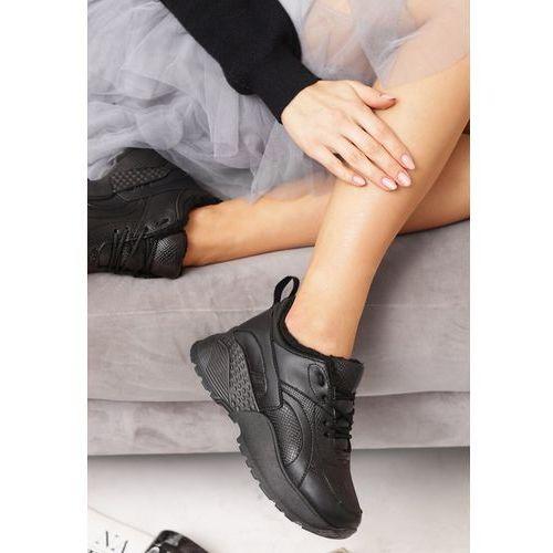 Beżowe Sneakersy Underwood