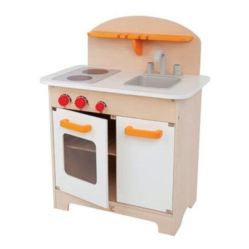 Kuchnia dla dzieci, drewniana Biała linia, Hape  porównaj zanim kupisz -> Hape Kuchnia Biala