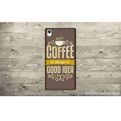 ETUI NA TELEFON SONY Z2 - COFFEE