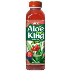 Napój Aloe Vera King z cząstkami aloesu i granatem 0,5l OKF