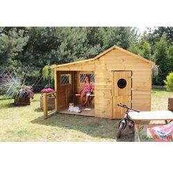 Domek drewniany dla dzieci Ula