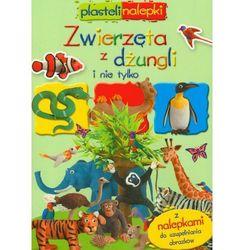 Zwierzęta z dżungli i nie tylko Plastelinalepki